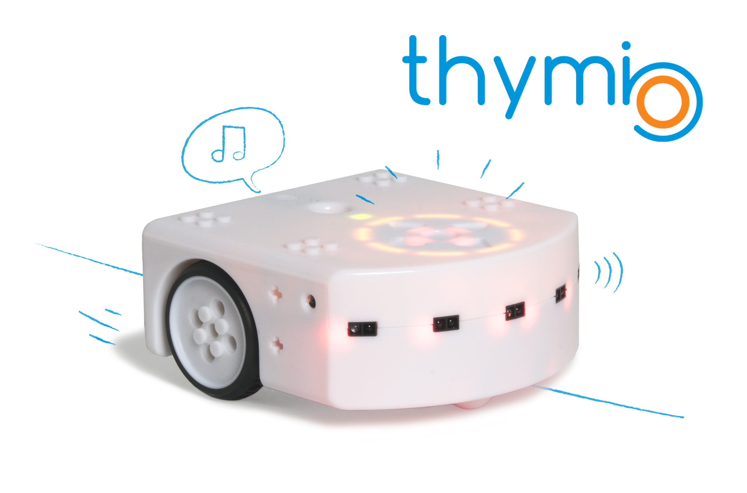 Picture of the Thymio robot
